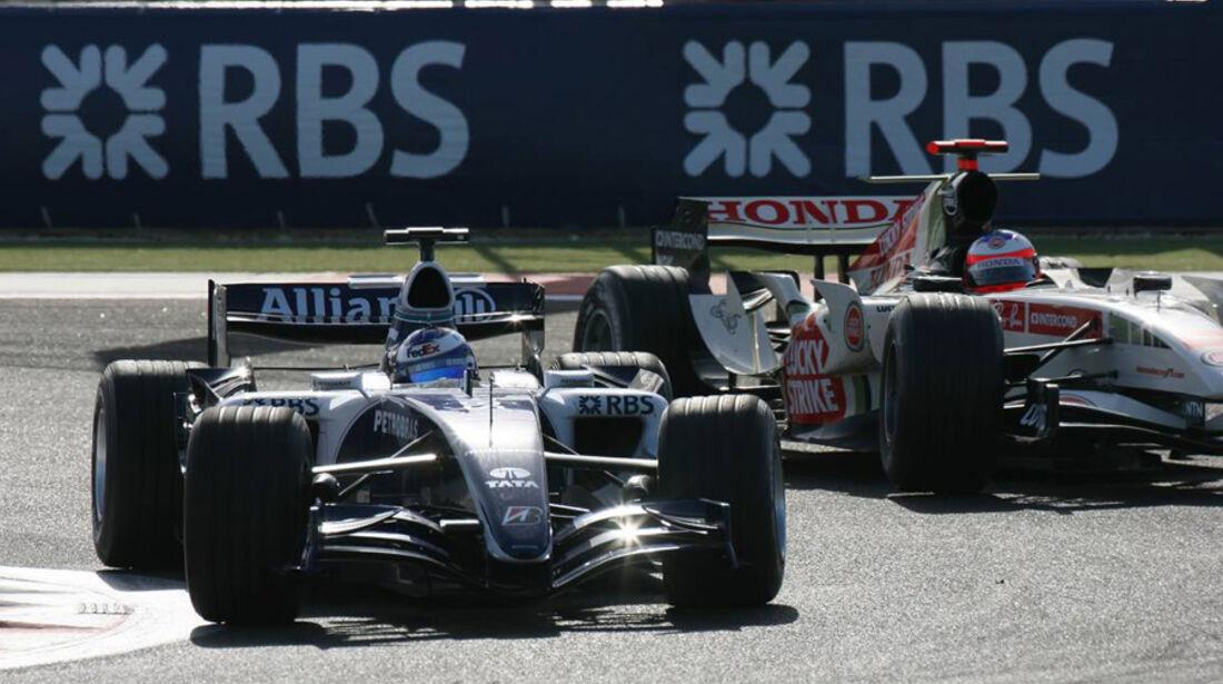 Nico Rosberg F1-Debüt GP Bahrain 2006
