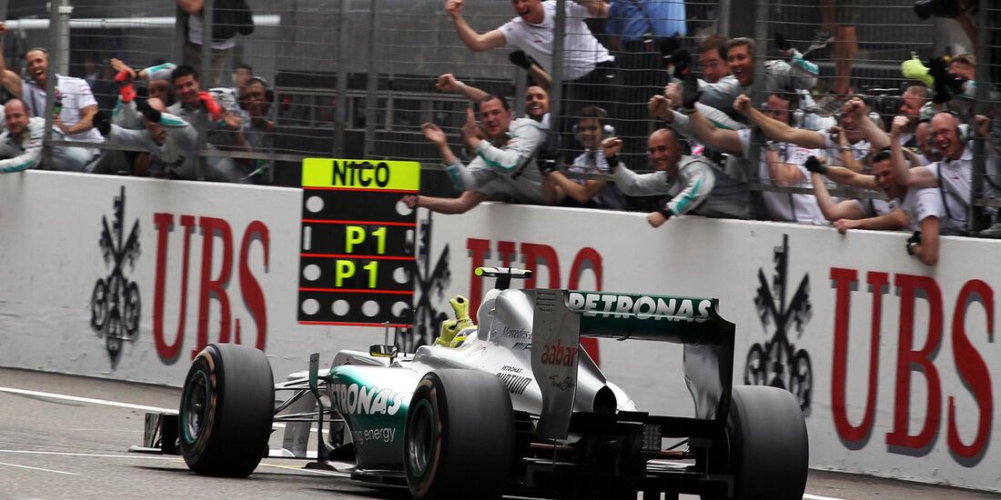 Nico Rosberg Formel 1 2012