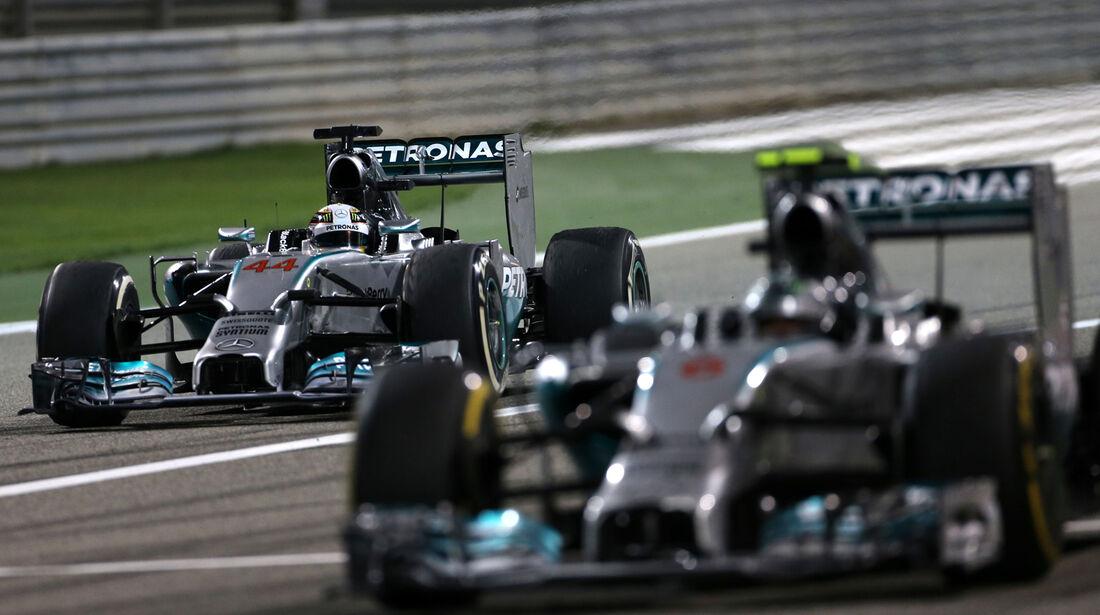 Nico Rosberg - Formel 1 - GP Bahrain 2014
