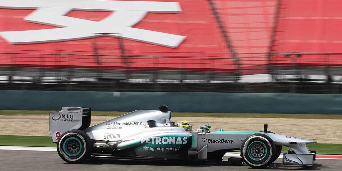 Nico Rosberg - Formel 1 - GP China -12. April 2013