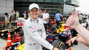 Nico Rosberg  - Formel 1 - GP China - 14. April 2012