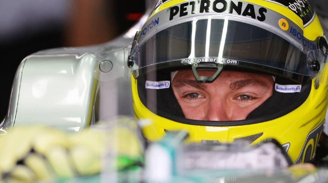 Nico Rosberg - Formel 1 - GP Deutschland - 21. Juli 2012