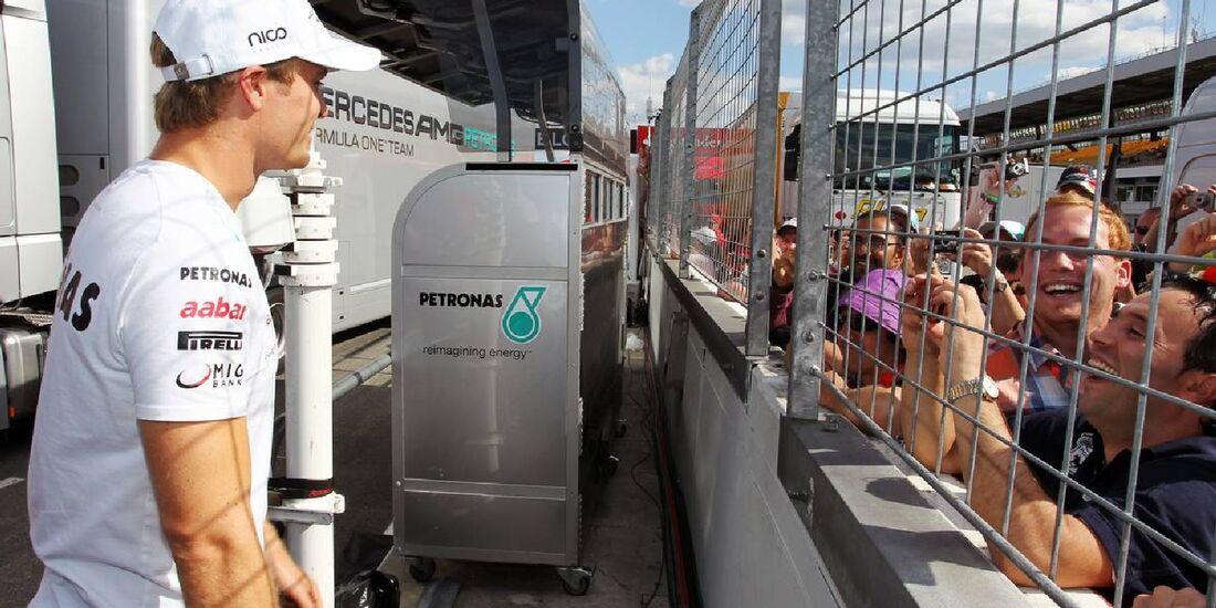 Nico Rosberg - Formel 1 - GP Deutschland - 22. Juli 2012