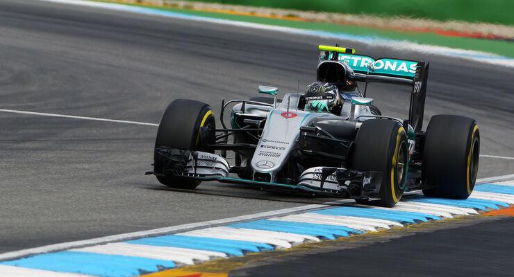 Nico Rosberg - Formel 1 - GP Deutschland - 30. Juli 2016