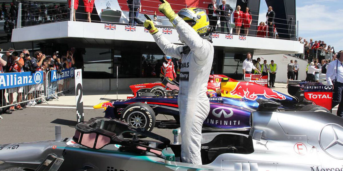 Nico Rosberg  - Formel 1 - GP England - 30. Juni 2013