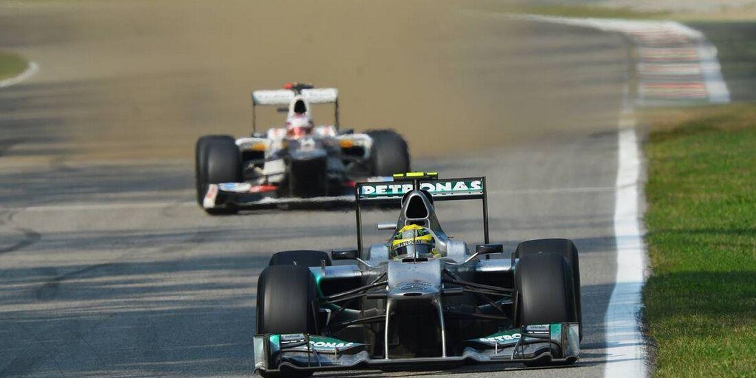 Nico Rosberg - Formel 1 - GP Italien - 09. September 2012