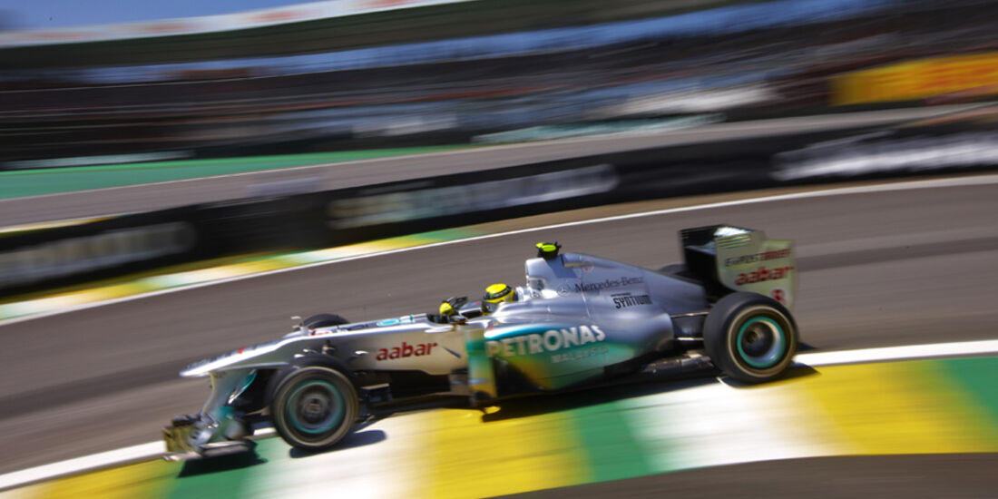 Nico Rosberg GP Brasilien 2011