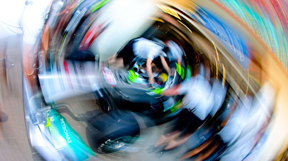 Nico Rosberg - GP Europa - Qualifying - 25. Juni 2011