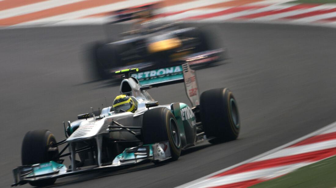 Nico Rosberg - GP Indien - Training - 28.10.2011