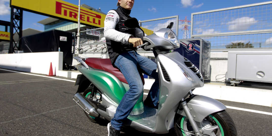 Nico Rosberg - GP Japan - Suzuka - 6. Oktober 2011