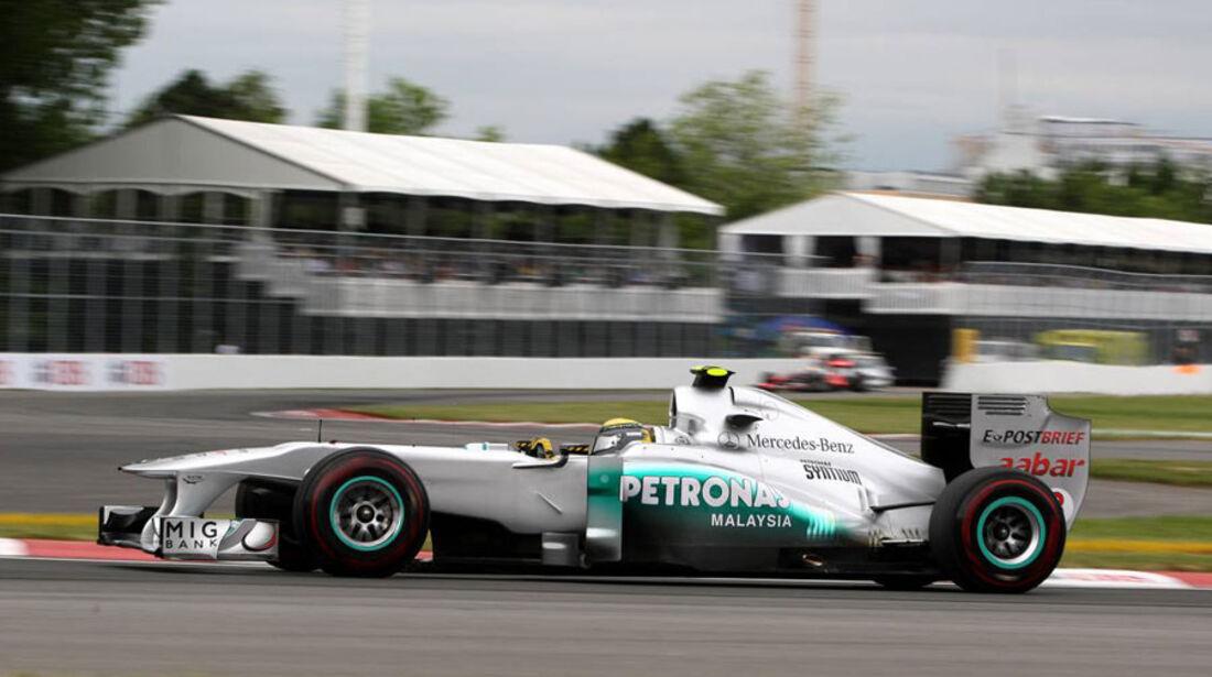 Nico Rosberg GP Kanada 2011