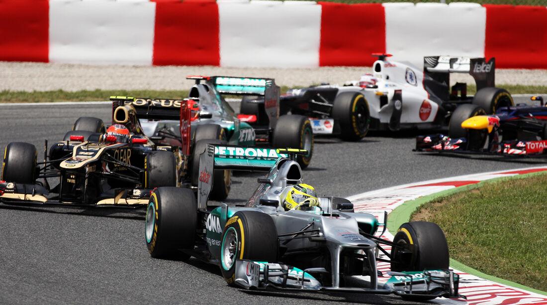 Nico Rosberg GP Spanien 2012