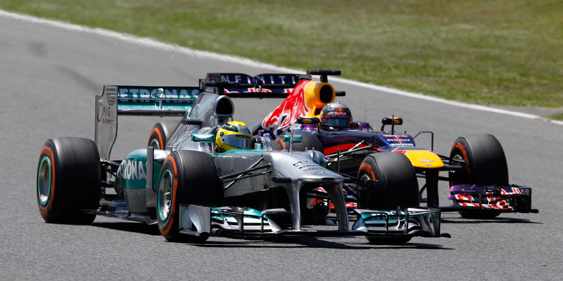 Nico Rosberg - GP Spanien 2013