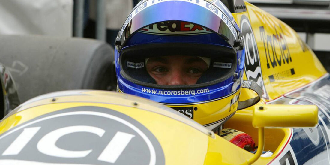 Nico Rosberg Goodwood 2005