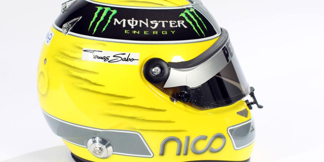 Nico Rosberg Helm 2012