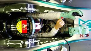 Nico Rosberg - Helm - Formel 1 - GP Deutschland 2014