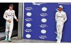 Nico Rosberg - Lewis Hamilton - Mercedes - Formel 1 - GP Deutschland - 30. Juli 2016