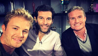 Nico Rosberg - Mark Webber - David Coulthard
