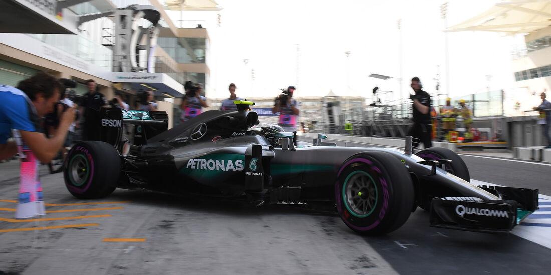 Nico Rosberg - Mercedes - Formel 1 - GP Abu Dhabi - 25. November 2016