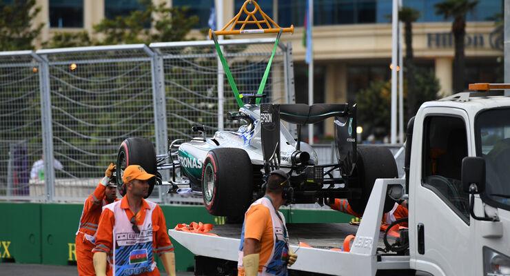 Baku killt Hybrid-Teile: MGU-K Schrott bei Mercedes und Ferrari ...