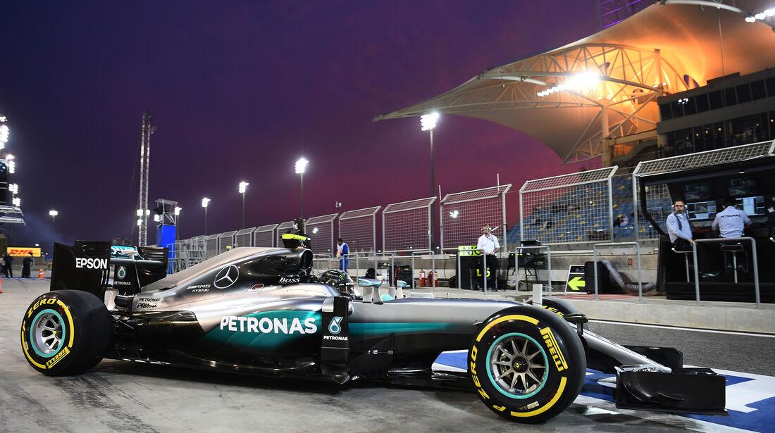 Nico Rosberg - Mercedes - Formel 1 - GP Bahrain - 1. April 2016