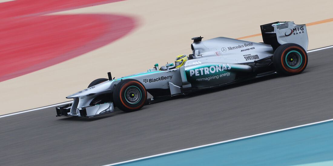 Nico Rosberg - Mercedes - Formel 1 - GP Bahrain - 19. April 2013