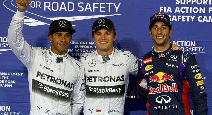 Nico Rosberg - Mercedes - Formel 1 - GP Bahrain - Sakhir - 4. April 2014