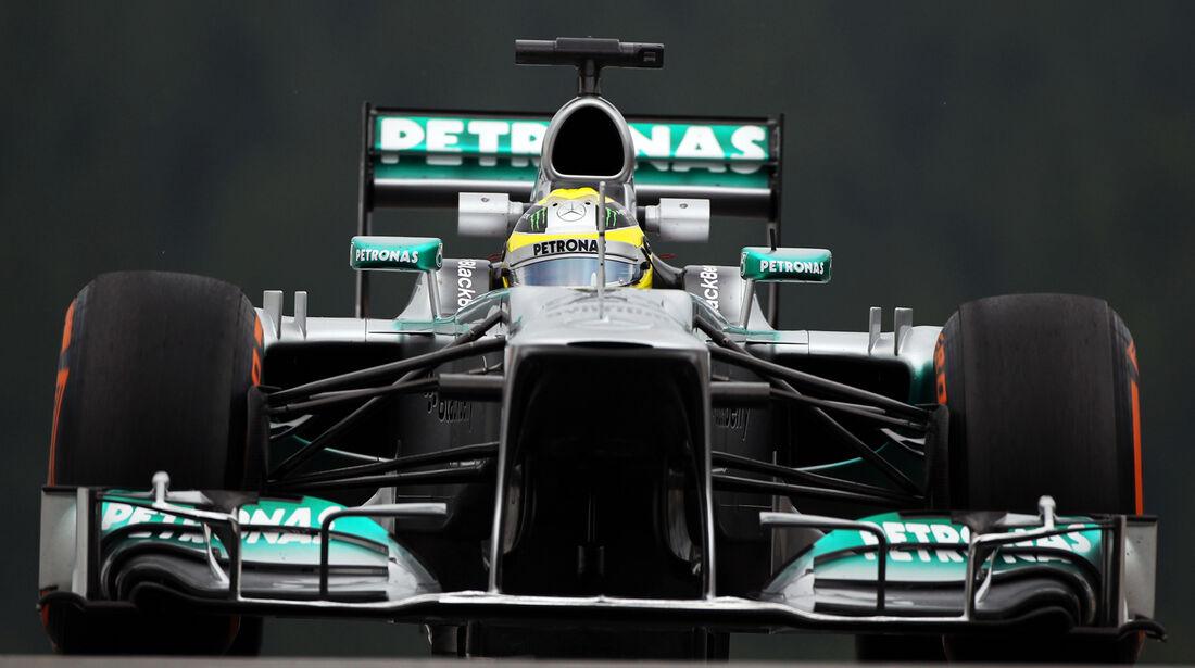 Nico Rosberg - Mercedes - Formel 1 - GP Belgien - Spa Francorchamps - 23. August 2013