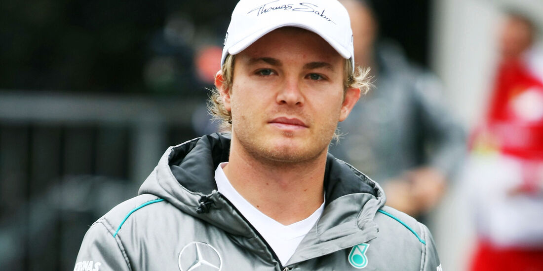 Nico Rosberg - Mercedes - Formel 1 - GP Belgien - Spa-Francorchamps - 24. August