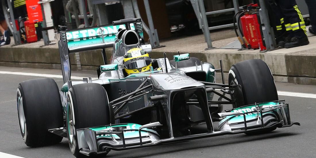 Nico Rosberg - Mercedes - Formel 1 - GP Deuschland - 5. Juli 2013