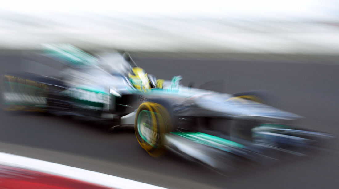 Nico Rosberg - Mercedes - Formel 1 - GP Deutschland - 6. Juli 2013