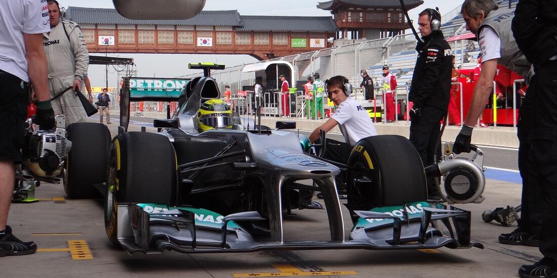 Nico Rosberg - Mercedes - Formel 1 - GP Korea - 12. Oktober 2012