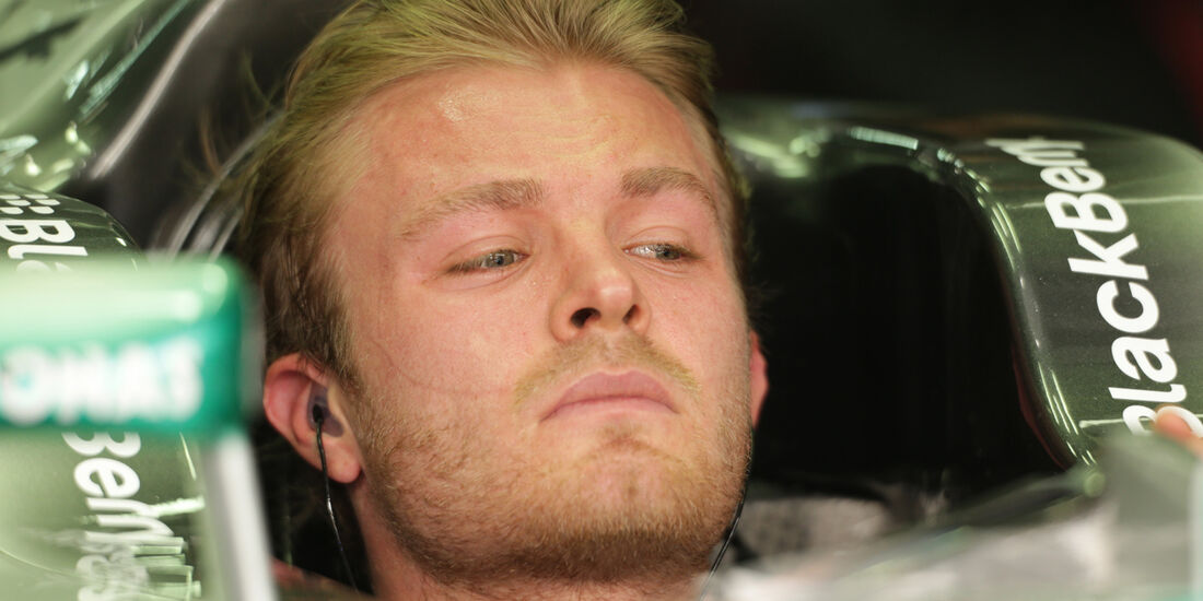 Nico Rosberg - Mercedes - Formel 1 - GP Malaysia - 22. März 2013