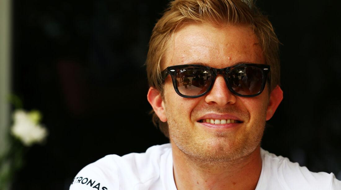 Nico Rosberg - Mercedes - Formel 1 - GP Malaysia - 27. März 2014