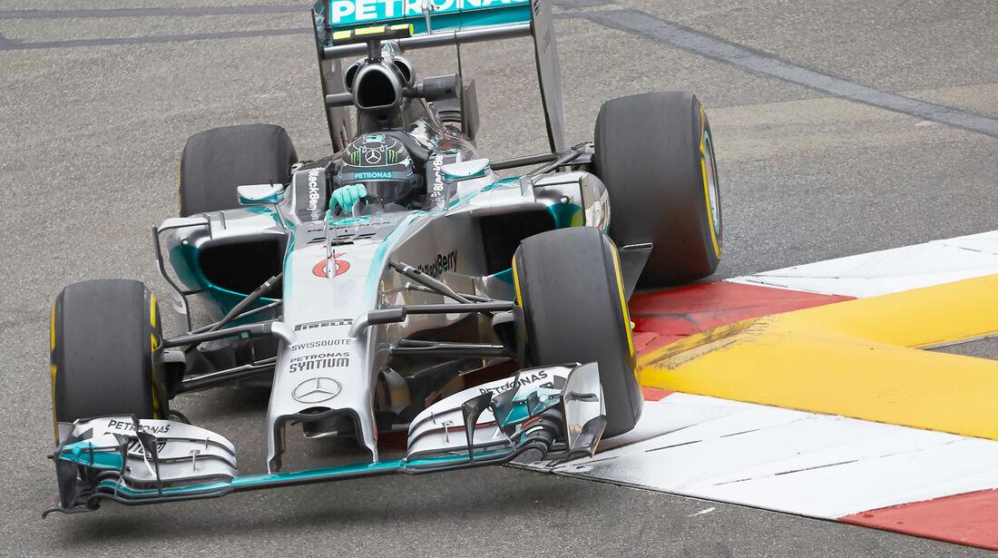 Nico Rosberg - Mercedes - Formel 1 - GP Monaco - 22. Mai 2014