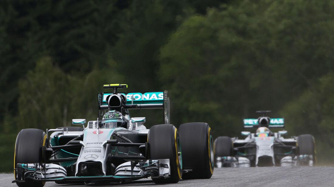 Nico Rosberg - Mercedes - Formel 1 - GP Österreich - Spielberg - 21. Juni 2014