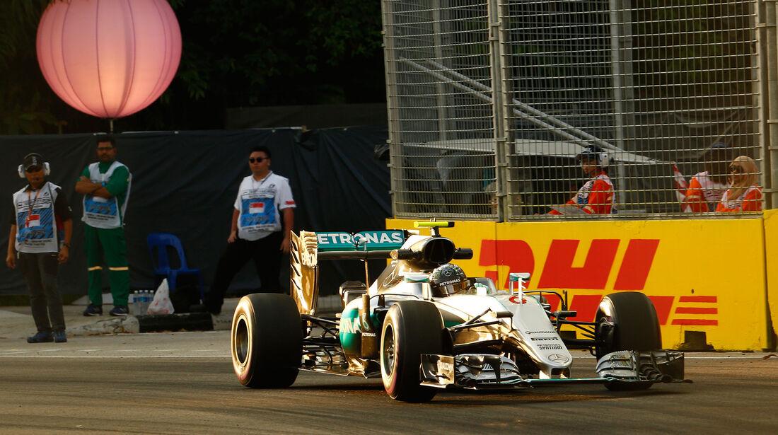 Nico Rosberg - Mercedes - Formel 1 - GP Singapur - 16. September 2016