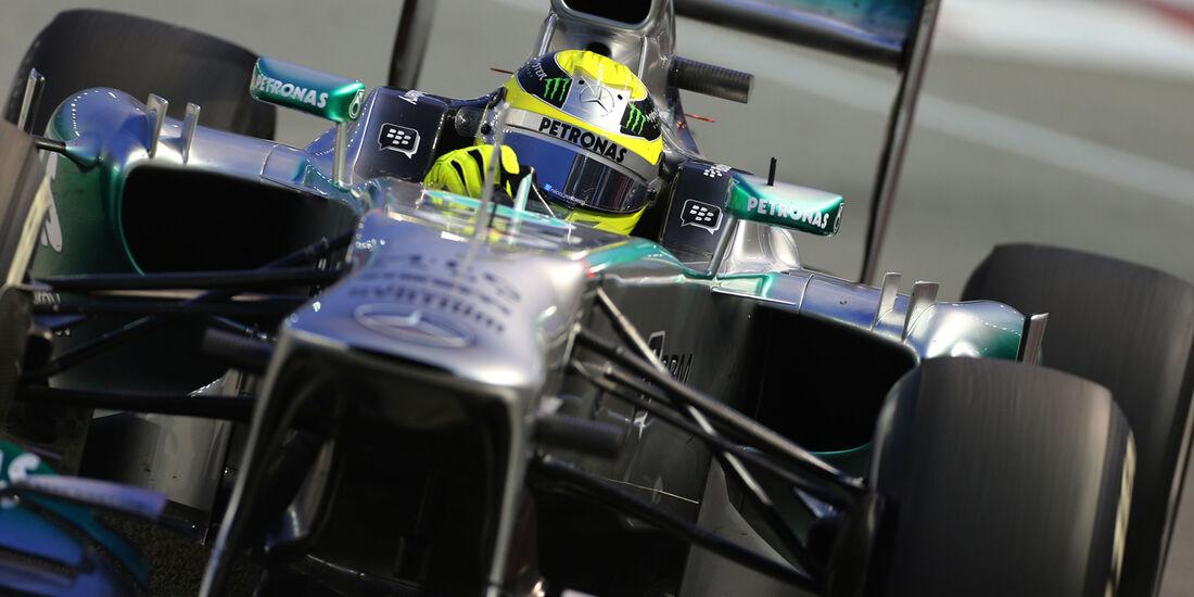 Nico Rosberg - Mercedes - Formel 1 - GP Singapur - 20. September 2013