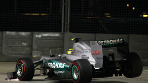 Nico Rosberg - Mercedes - Formel 1 - GP Singapur - 22. September 2012