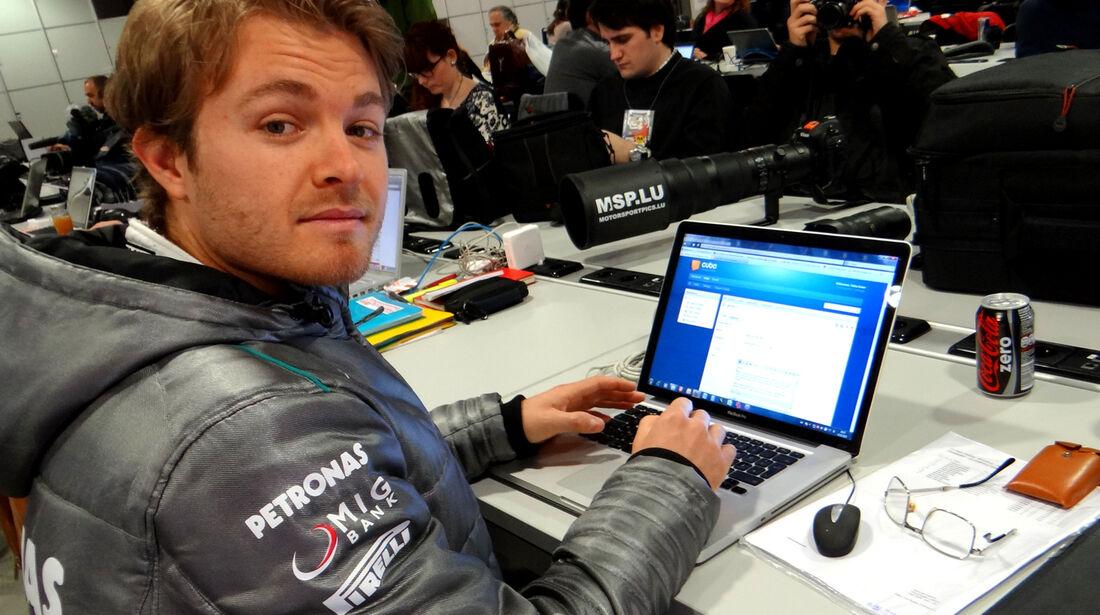 Nico Rosberg - Mercedes - Formel 1 - Test - Barcelona - 22.Februar 2013
