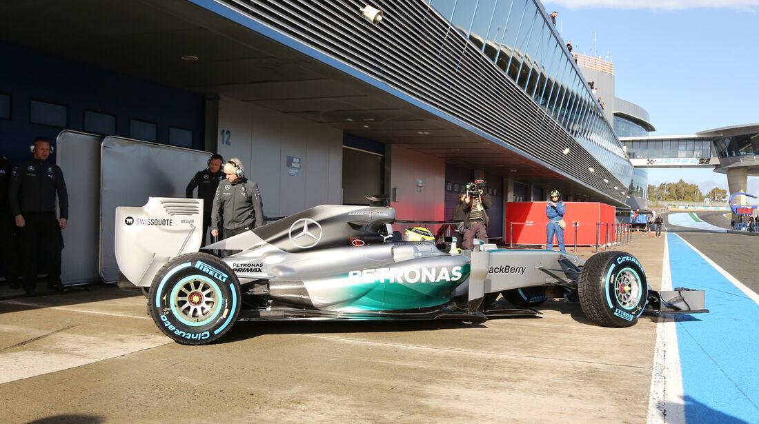 Nico Rosberg - Mercedes - Formel 1 - Test - Jerez - 29. Januar 2014
