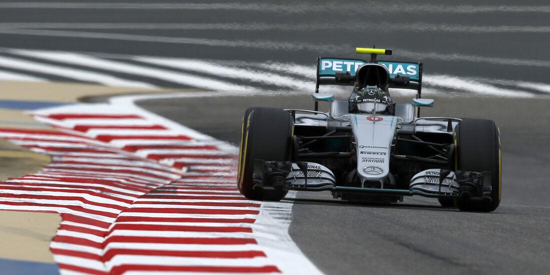 Nico Rosberg - Mercedes - GP Bahrain - Formel 1 - 1. April 2016