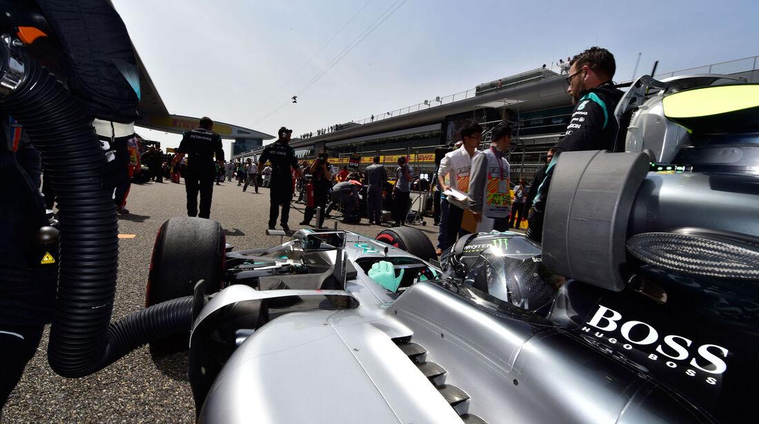 Nico Rosberg - Mercedes - GP China 2016 - Shanghai - Rennen