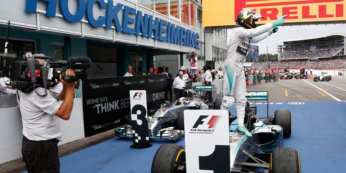Nico Rosberg - Mercedes - GP Deutschland 2014