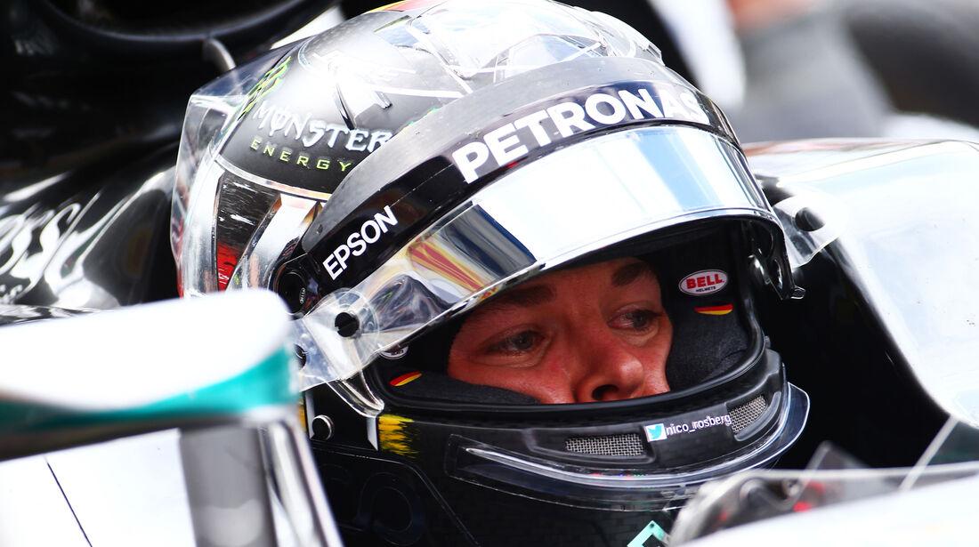 Nico Rosberg - Mercedes - GP Deutschland - Formel 1 - 29. Juli 2016