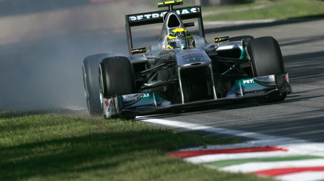 Nico Rosberg Mercedes GP Italien 2011