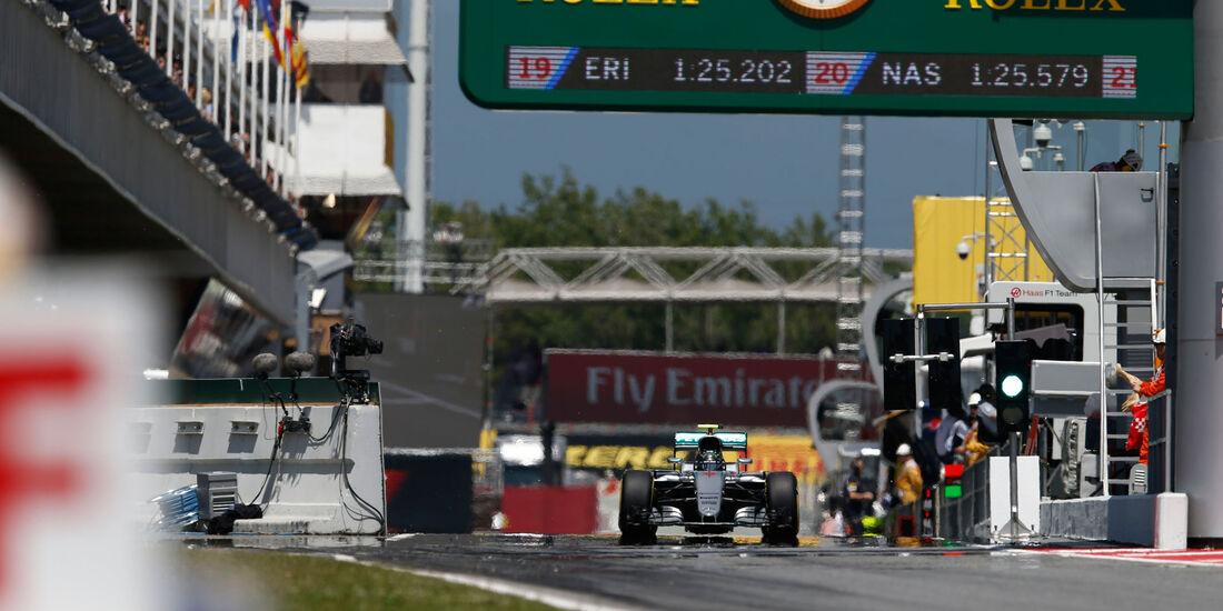 Nico Rosberg - Mercedes - GP Spanien 20+C2:C8316