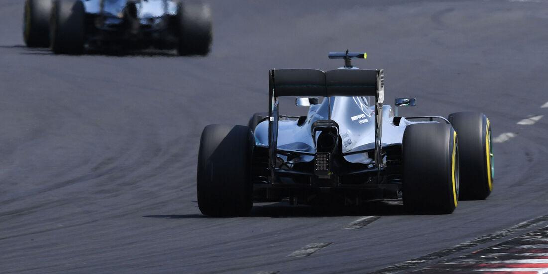 Nico Rosberg - Mercedes - GP Ungarn 2016