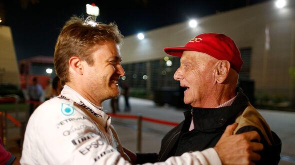 Nico Rosberg - Niki Lauda - F1 - 2016