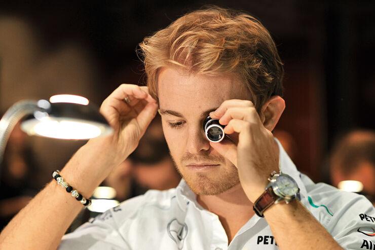 Nico Rosberg, Porträt